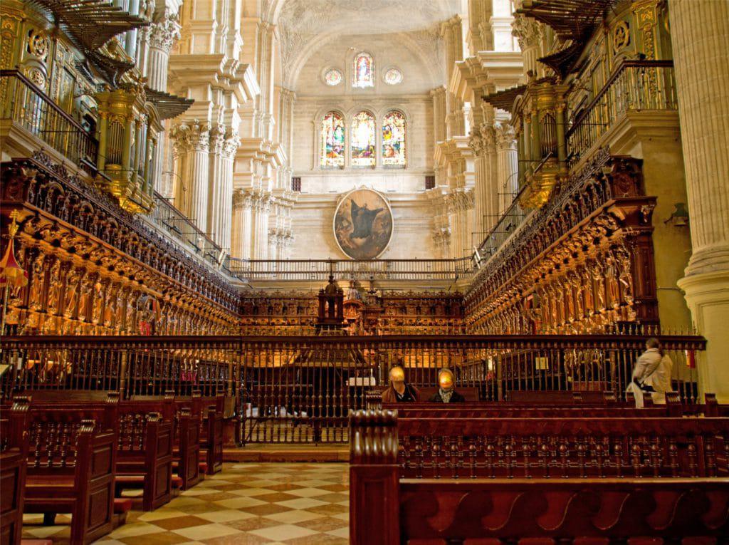 Catedral de Málaga rent a car Malaga