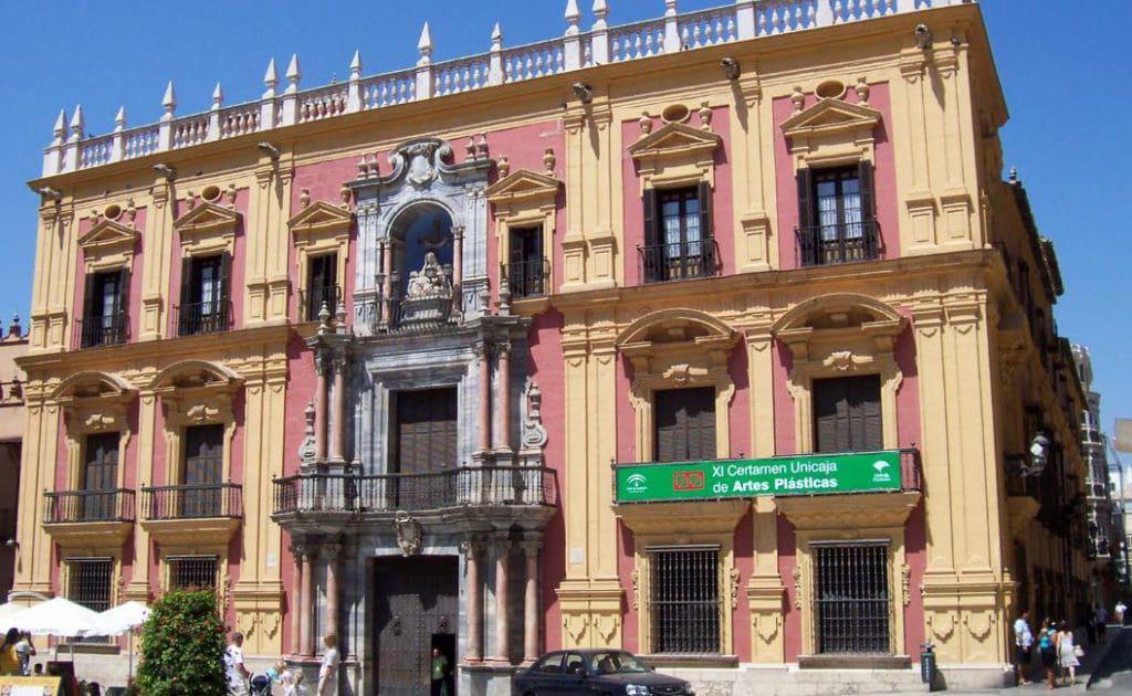Palacio episcopal de Málaga rental car malaga airport