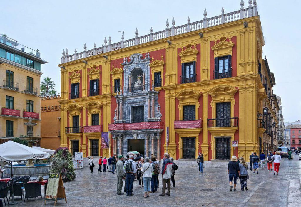 Palacio Episcopal car hire malaga