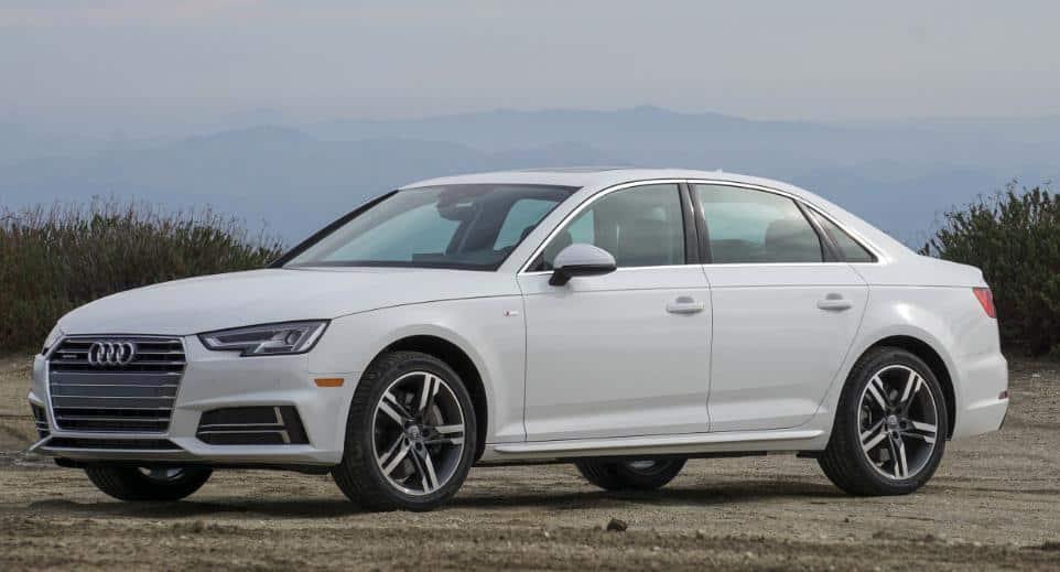 Prueba Audi A4 por rent a car Málaga
