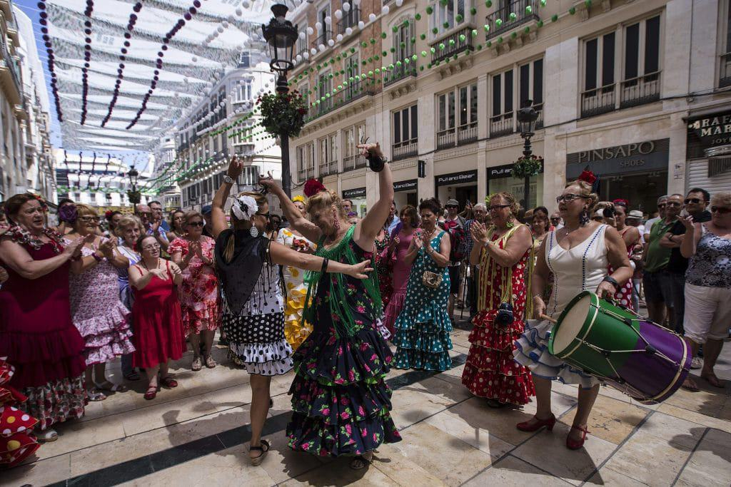 los verdiales feria Malaga rent a car malaga