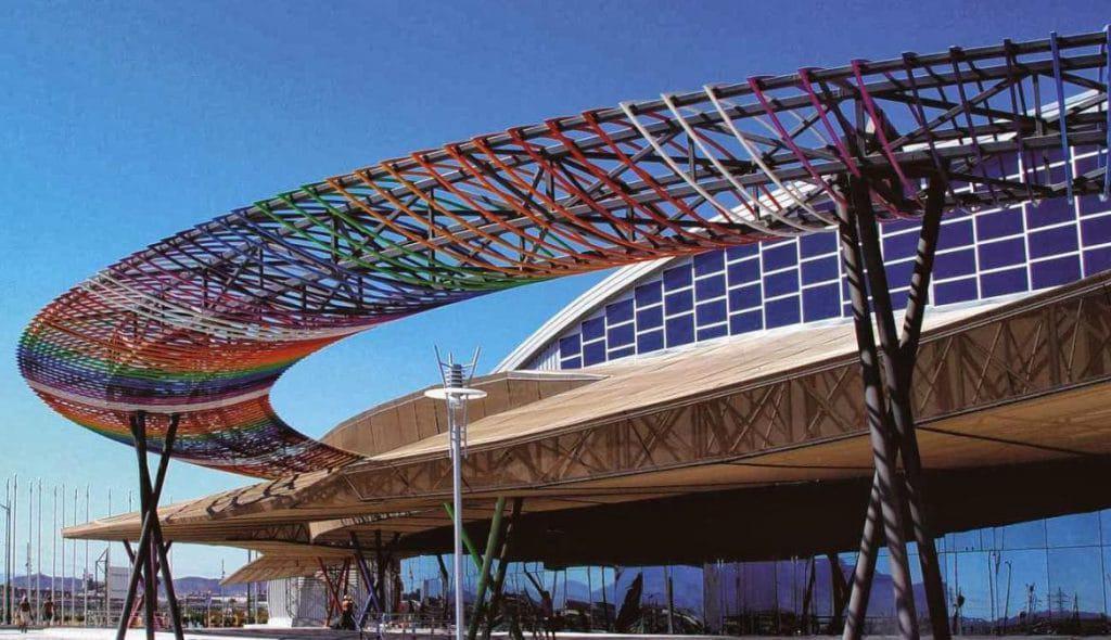 Pabellon de exposiciones Málaga rent a car malaga