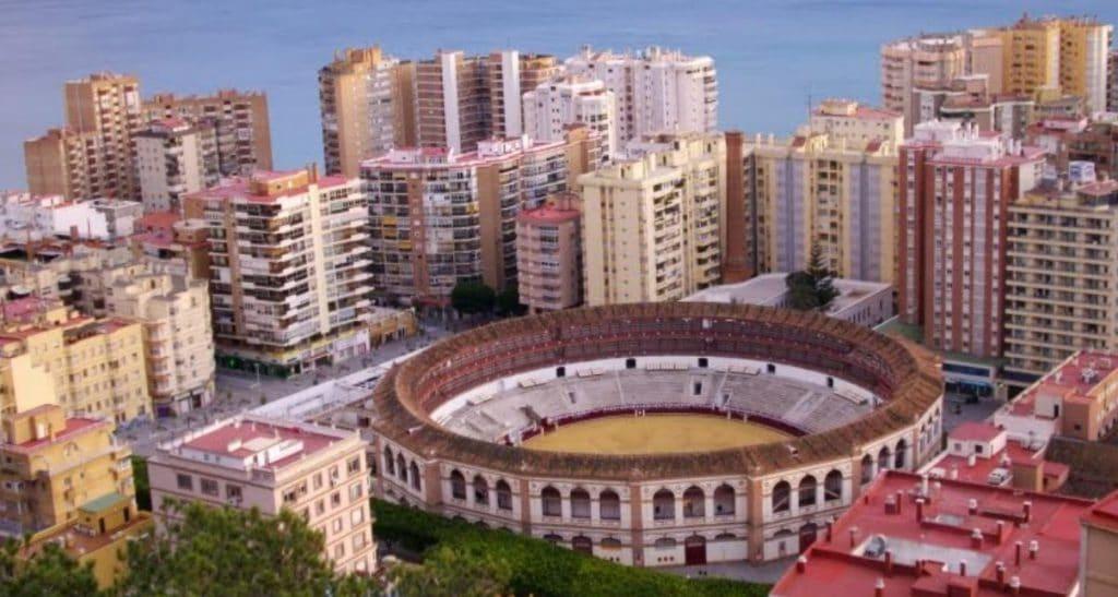 Plaza toros la Malagueta rent a car Malaga
