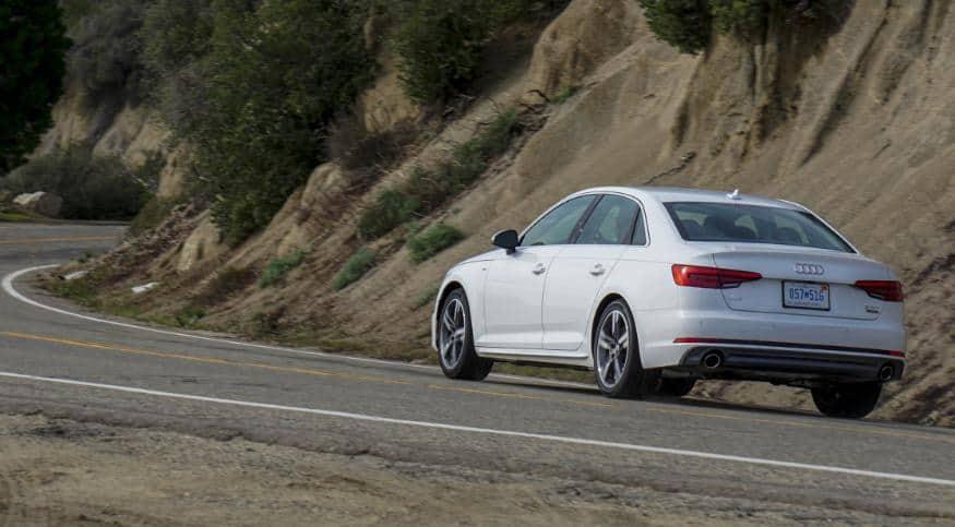 Prueba Audi A4 por car hire Málaga airport