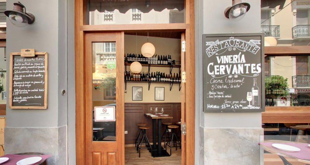 Viñería cervantes Málaga rent a car Malaga