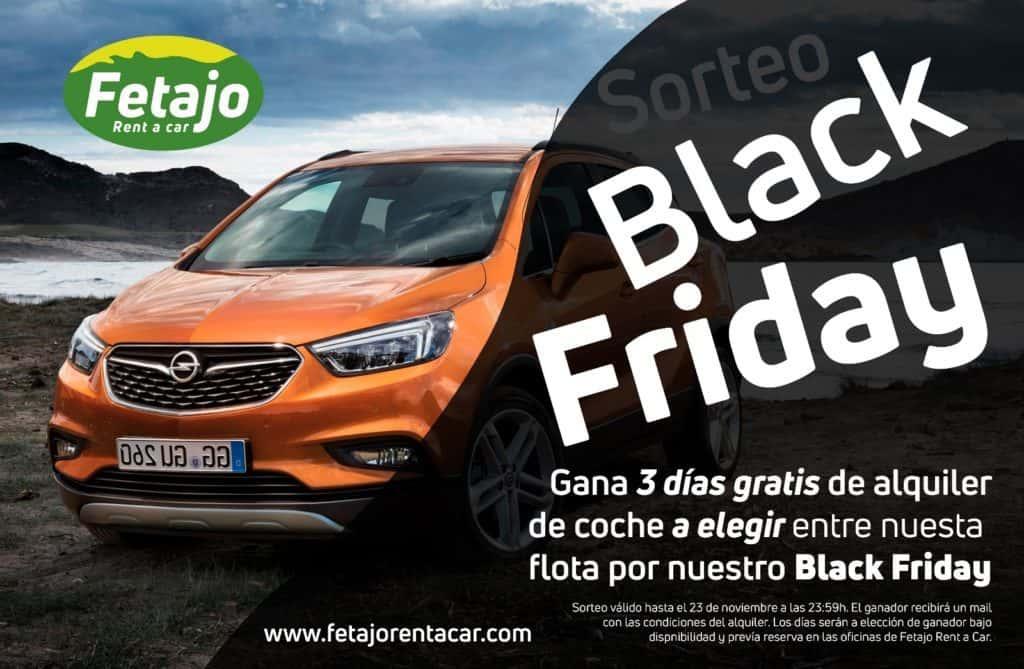 Oferta de Black Friday en Fetajo Rent a Car