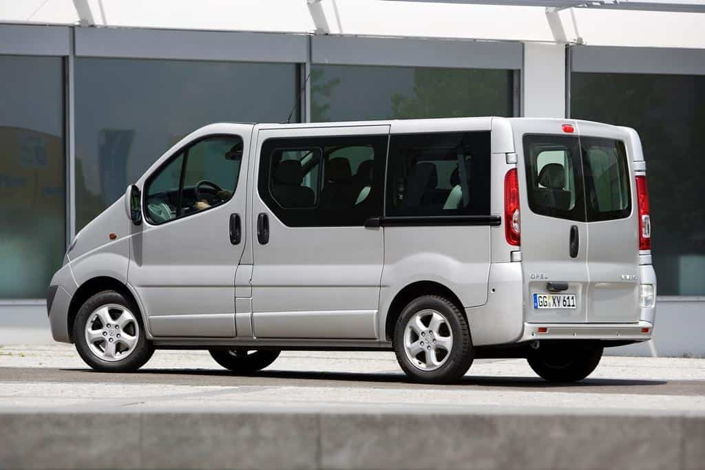 Test Opel Vivaro rent a car Malaga