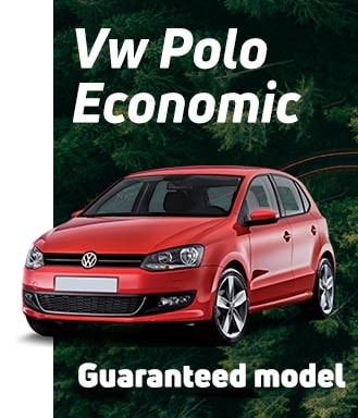 Volkswagen Golf with guaranteed model in Fetajo Rent a Car