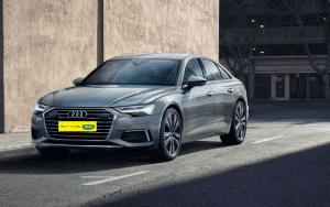 Exterior de Audi A6 de Fetajo Rent a Car
