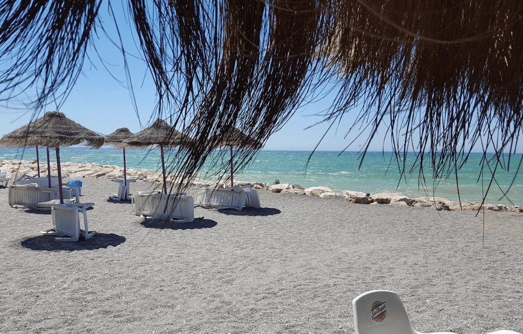 Chiringutos playa Guadamar car Hire Malaga Airport