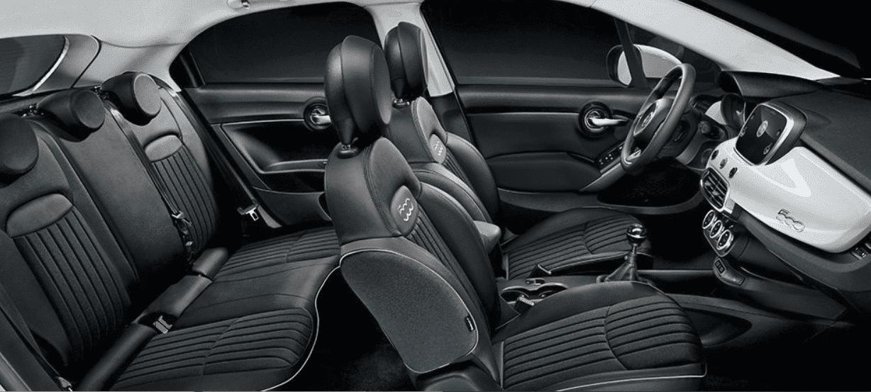 Fiat 500 interior car hire malaga airport