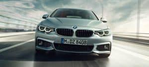 Parte frontal de BMW serie 4 a car en Fetajo Rent a Car