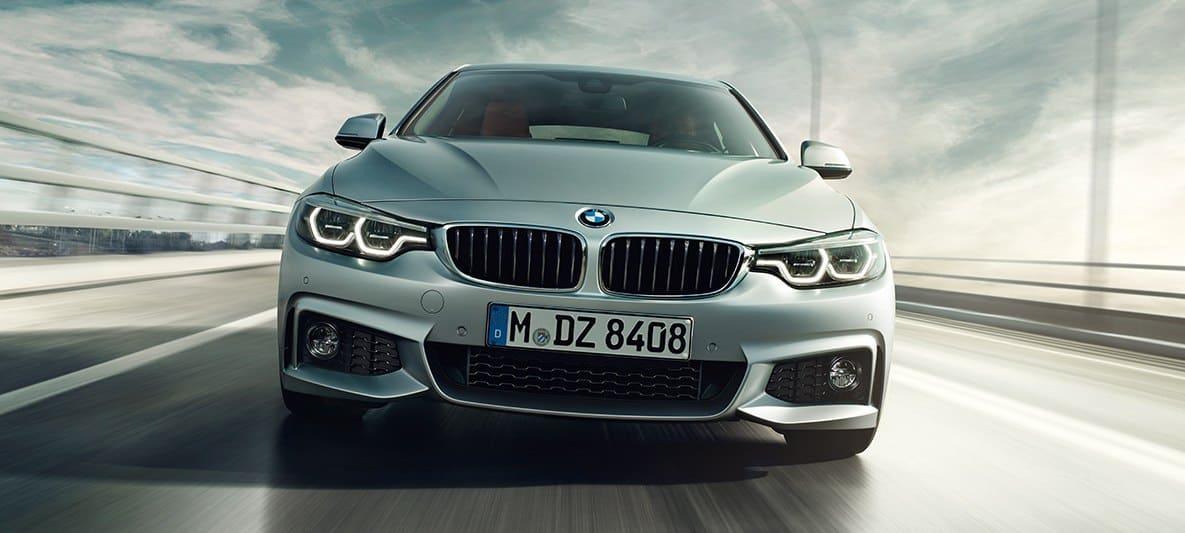 BMW serie 4 frontal car Hire malaga Airport