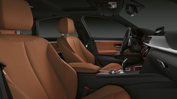 BMW serie 4 Interior car Hire malaga Airport