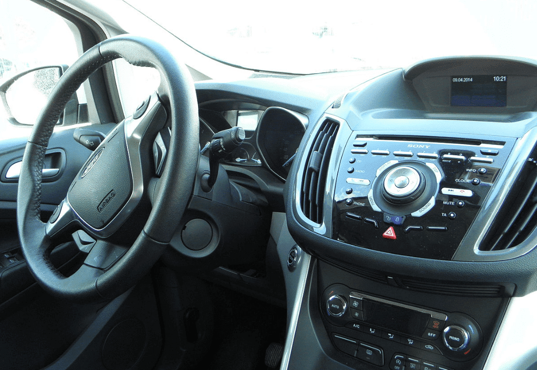 Interior consola central Ford Cmax Malaga