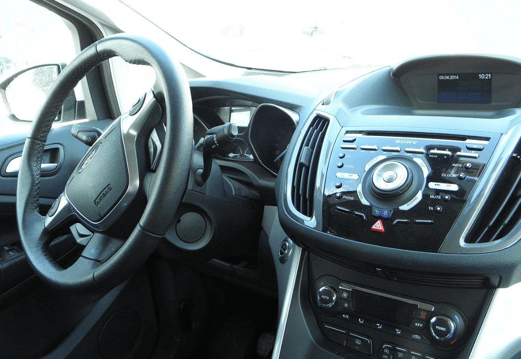 Interior consola central Ford Cmax Malaga