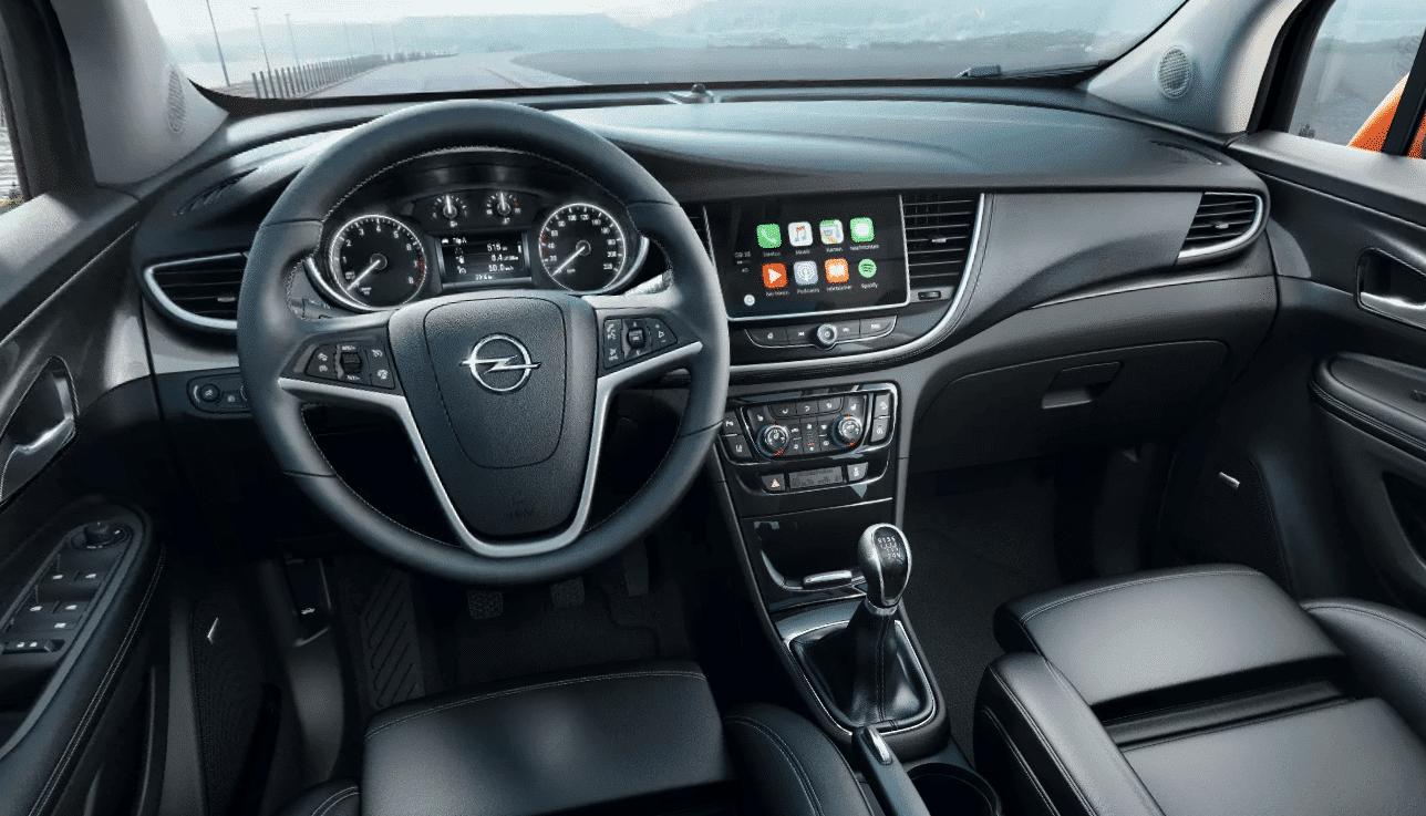 Interior coche Prueba opel Mokka Malaga
