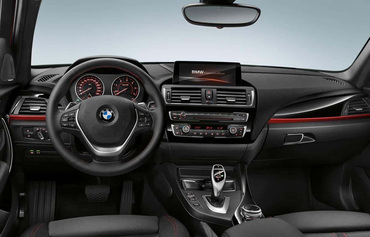 Acabados interiores del BMW serie 1