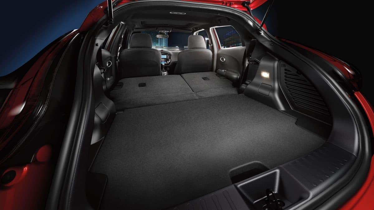 interior Nissan Juke rent a car Malaga