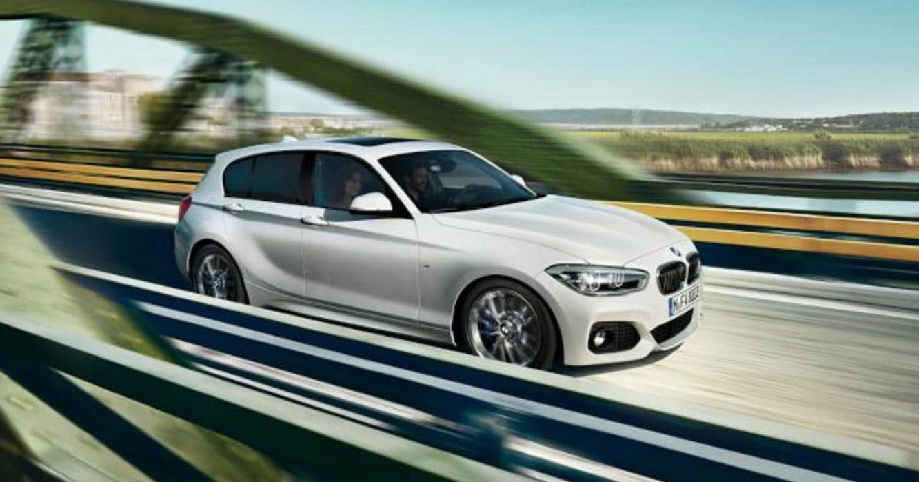 Prueba del nuevo BMW serie 1 por Málaga
