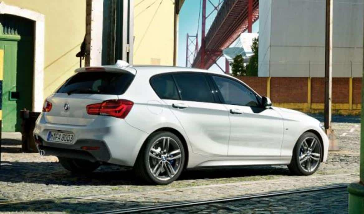 Parte trasera BMW serie 1 Por Malaga
