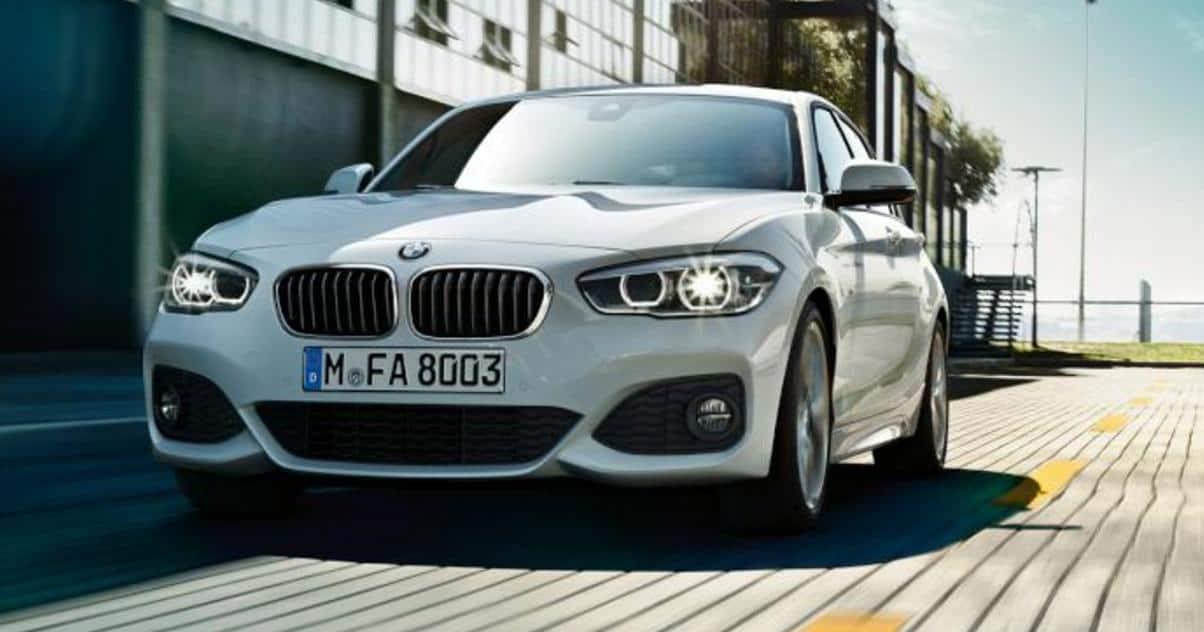 Prueba BMW serie1 por Málaga