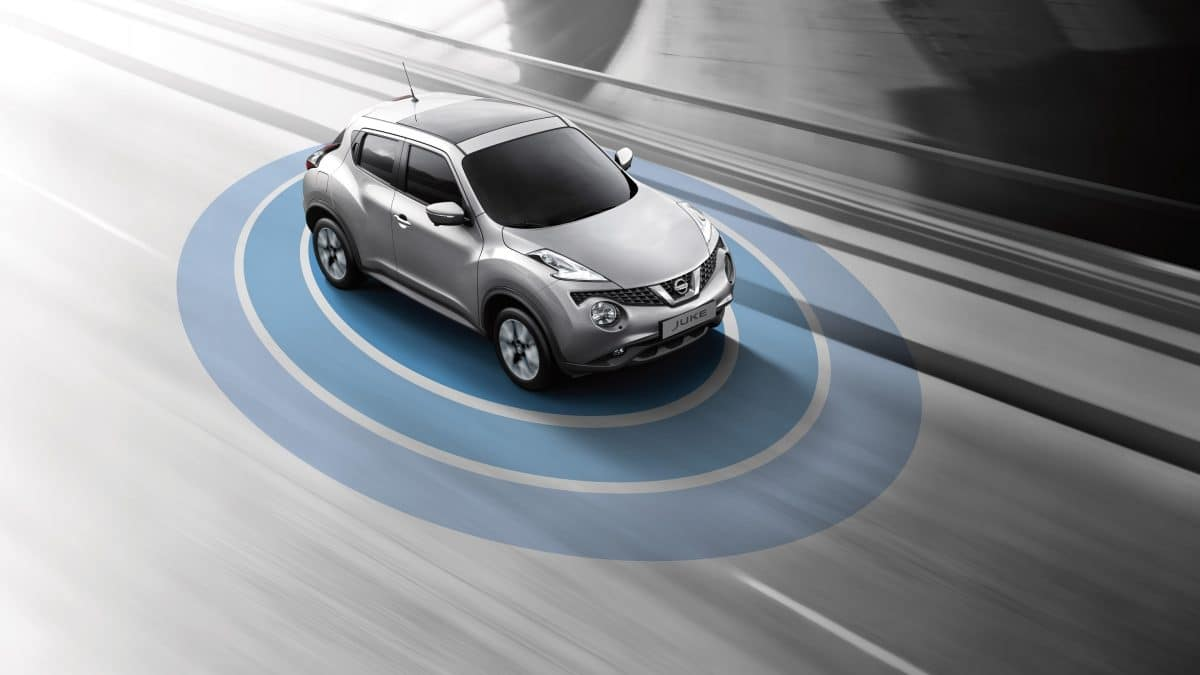 Seguridad Nissan Juke rent a car Malaga