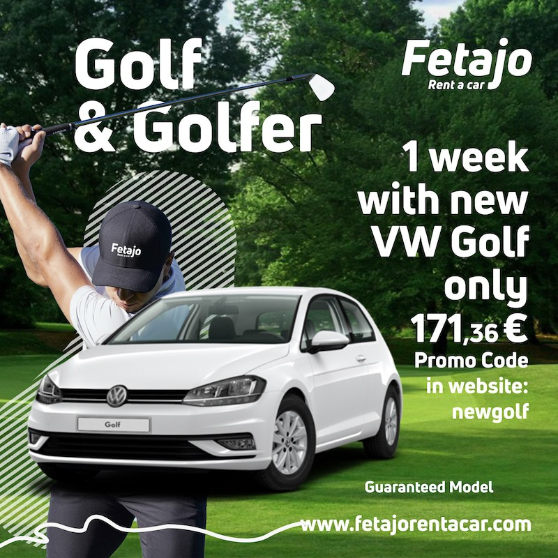 Golf&Golfer Rent a car golf Malaga