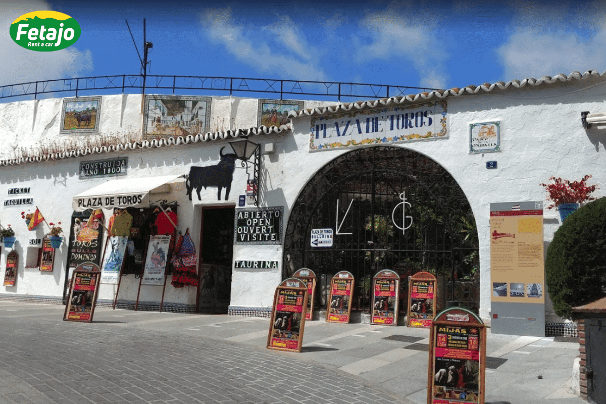 Plaza toros Mijas Car Hire Malaga Airport