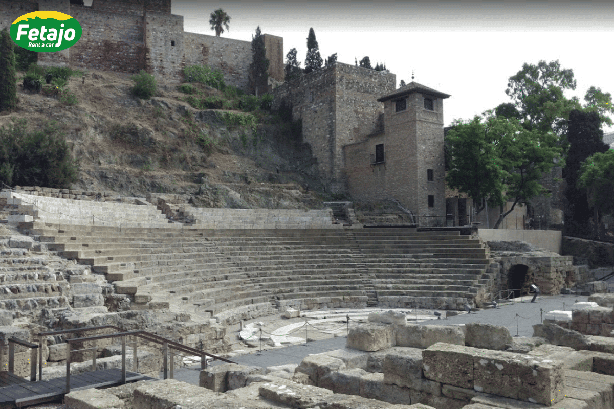 Teatro Romano rent a car Málaga