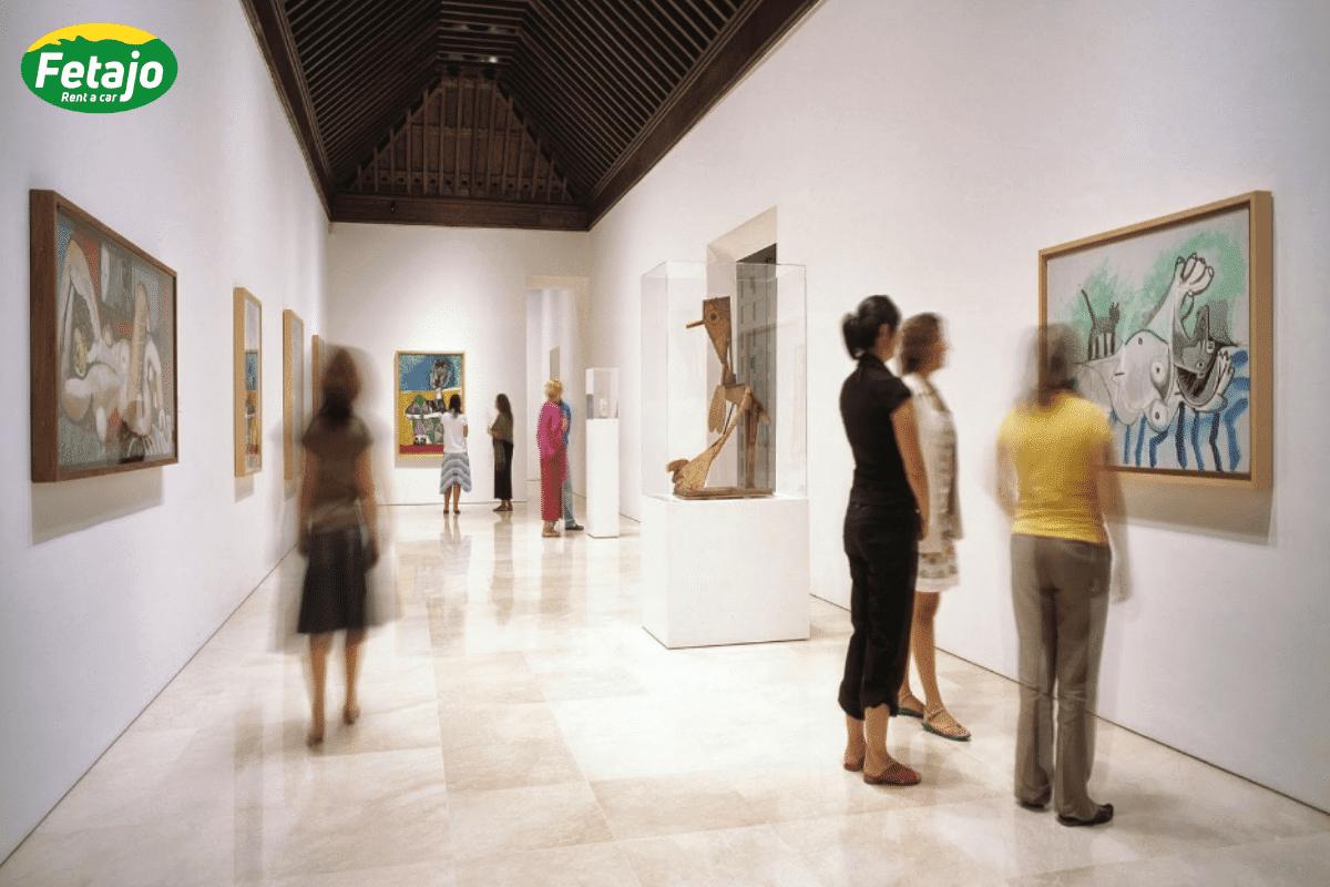 Museo Picasso rent a car Málaga