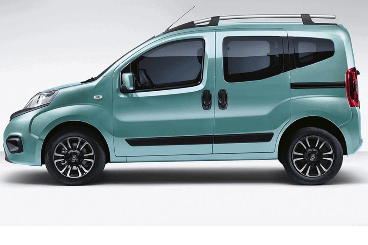 Fiat Qubo alquiler coche Malaga