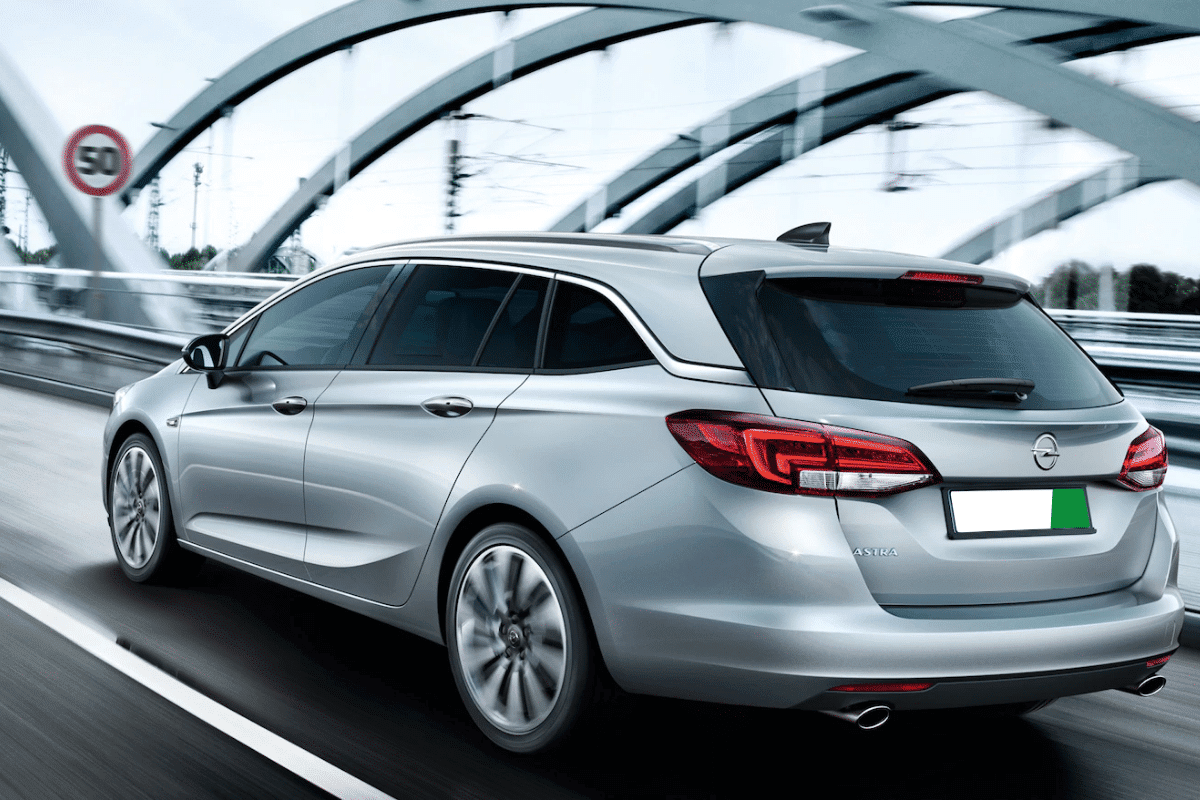 Opel Wagon Car rental Malaga airport