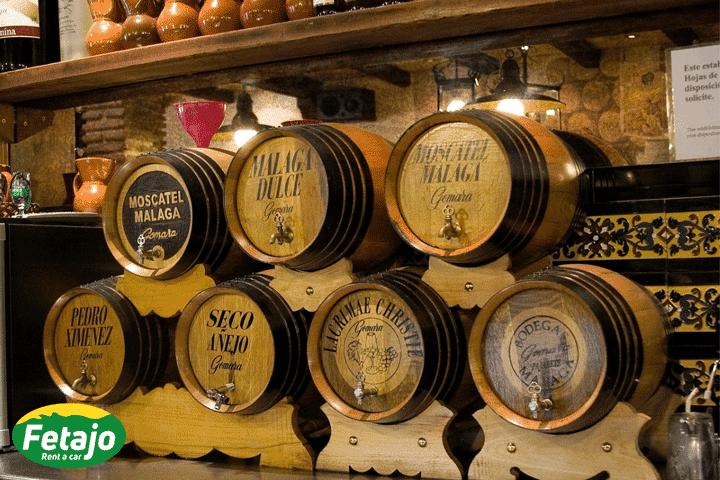 Mejor vino malaga rental car malaga