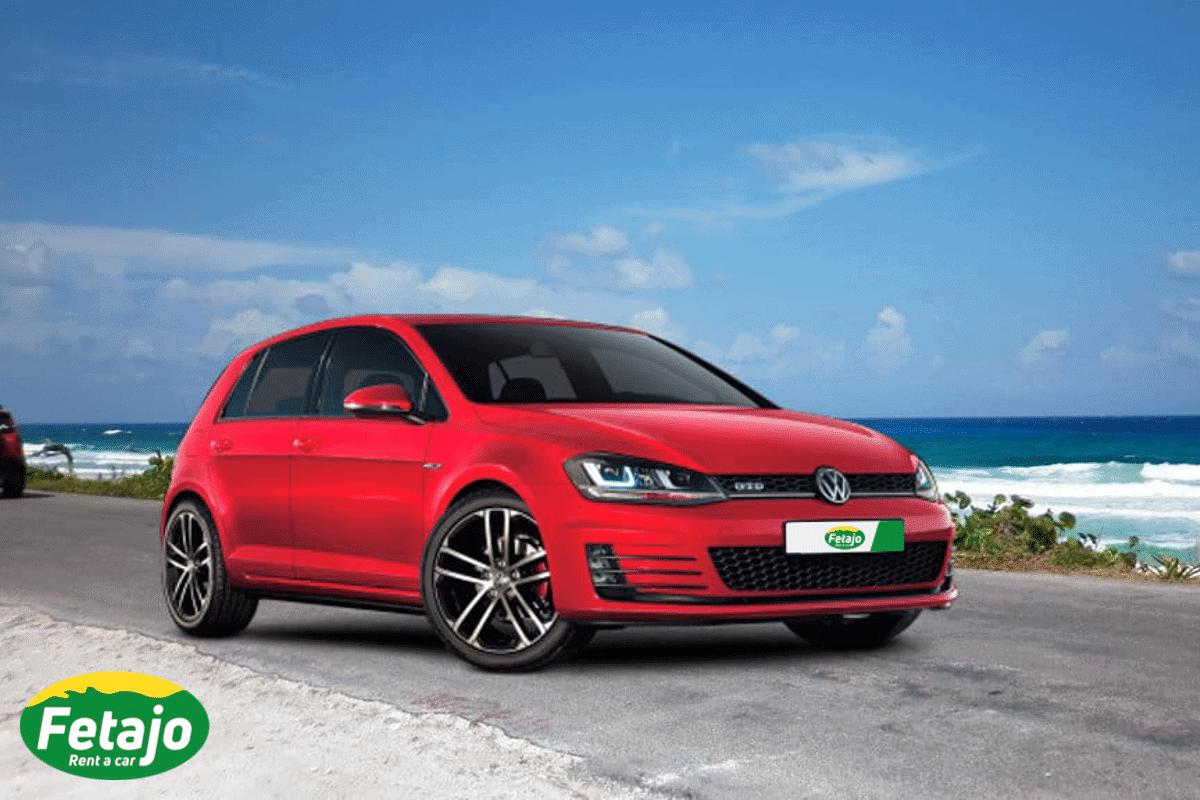 Nuevo Golf alquiler coche malaga
