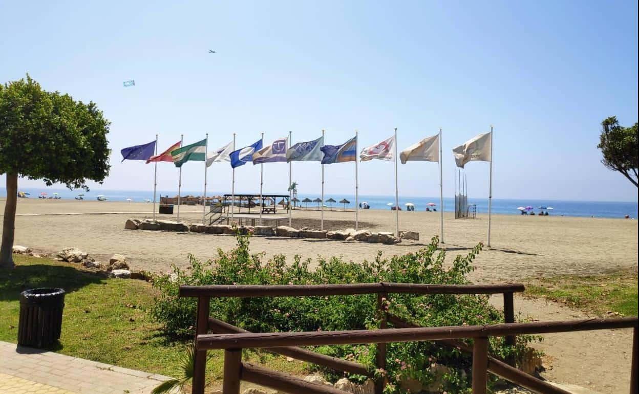 Benajarafe beach