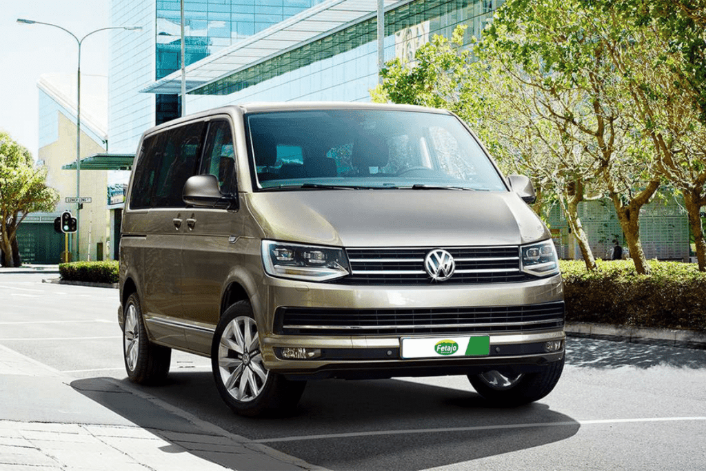 VW Caravell rent a car Malaga