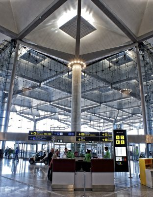 Malaga airport office